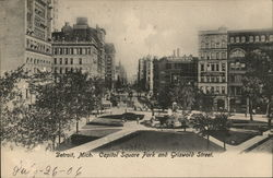 Capitol Square Park and Griswold Street