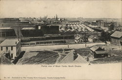 Partial View of Stock Yards