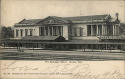 The Burlington Station Omaha, NE Postcard