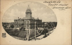 Douglas County Court House Omaha, NE Postcard