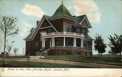 Home of Hon. Wm. Jennings Bryan
