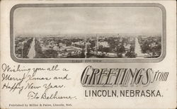 Birds Eye View of Lincoln