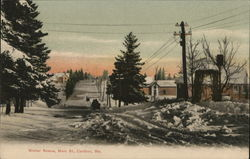 Winter Scene, Main St.