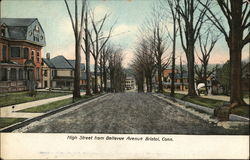 High Street from Bellevue Avenue