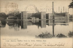 American Waltham Watch Co. Works Postcard