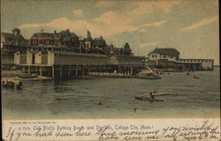 Oak Bluffs Bathing Beach and Pavilion