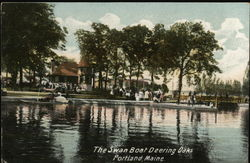 The Swan Boat Deering Oaks