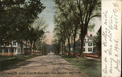 Federal Street and the House Where Uncle Tom's Cabin was Written