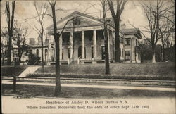 Residence of Ansley D. Wilcox Buffalo N.Y.