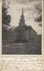First Presbyterian Church, 3rd and Brown Sts.