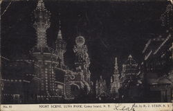Luna Park, Night Scene