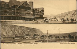 Mammoth Hotel and Fort