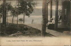 Cedar Lake Hotel, 4th Lake, Adirondacks