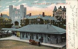 P.R.R. Depot and Blair Hall