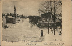 Hamburg Avenue in Winter