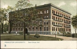 David Brown Hall, Princeton University Postcard