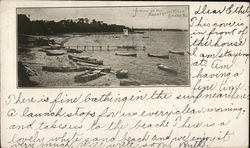 A Cove on the Manasquan River Postcard