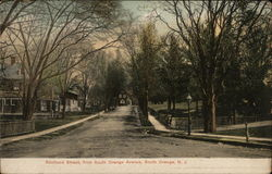 Scotland Street, from South Orange Avenue Postcard