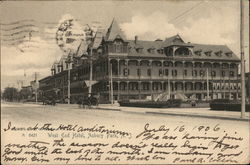 West End Hotel Postcard