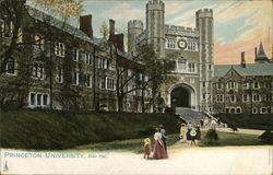 Blair Hall, Princeton University Postcard