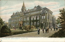 Dickinson Hall, Princeton University Postcard