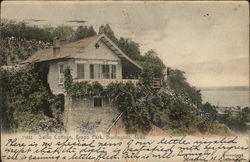 Swiss Cottage, Crapo Park Postcard