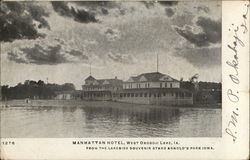 Manhattan Hotel, West Okoboji Lake