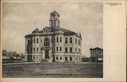Appanoose County Court House Postcard