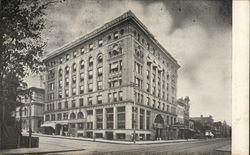 Bank & Insurance Building Postcard