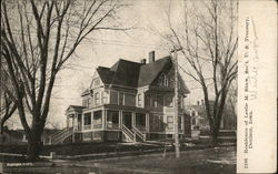 Residence of Leslie M. Shaw Postcard