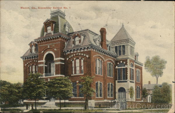 Alexander School No. 1 Macon Georgia