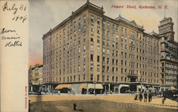 Powers' Hotel Rochester New York