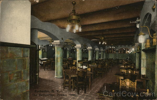 The Rathskeller, Powers Hotel Rochester New York