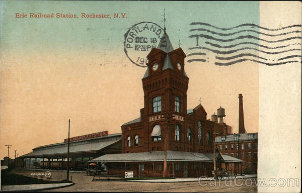 Erie Railroad Station Rochester New York