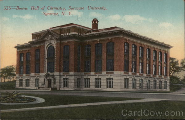 Bowne Hall of Chemistry, Syracuse University New York