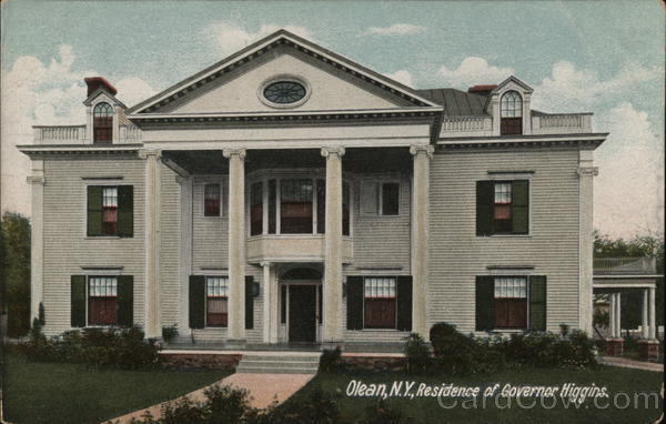 Residence of Governor Higgins Olean New York