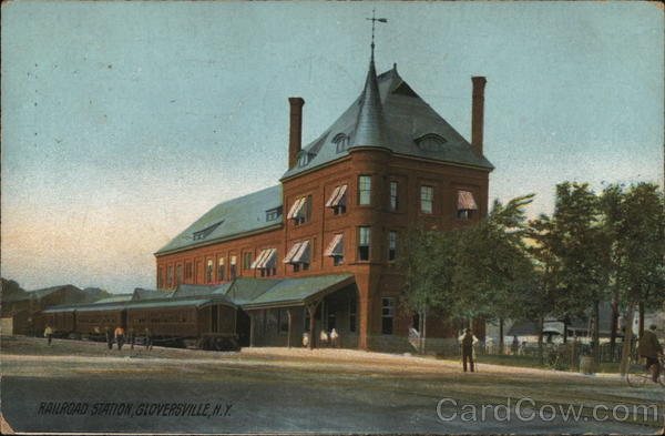 Railroad Station Gloversville New York