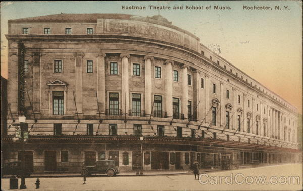 Eastman Theatre and School of Music. Rochester New York