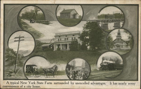 A Typical New York State Farm Syracuse Farming