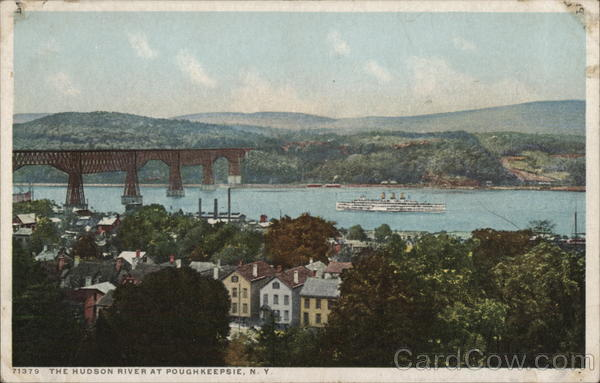 The Hudson River at Poughkeepsie New York