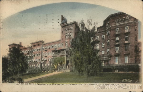 Jackson Health Resort - Main Building Dansville New York