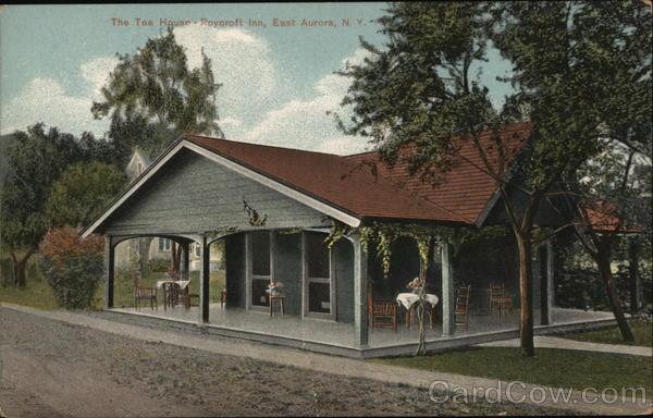 The Tea House - Roycroft Inn East Aurora New York
