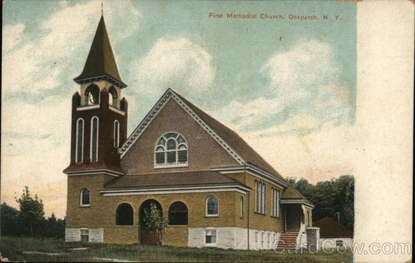 First Methodist Church, Despatch  East Rochester New York
