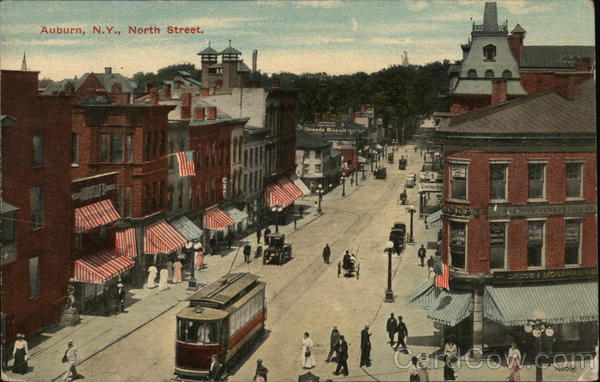North Street Auburn New York