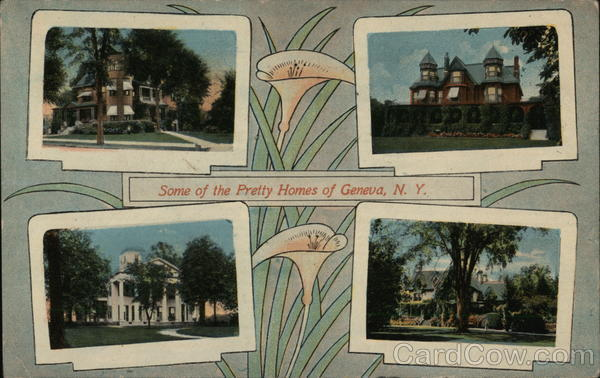 Some of the Pretty Homes Geneva New York