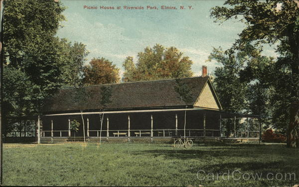 Picnic House at Riverside Park Elmira New York