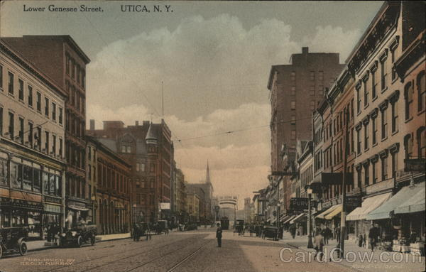 Lower Genesee Street Utica New York