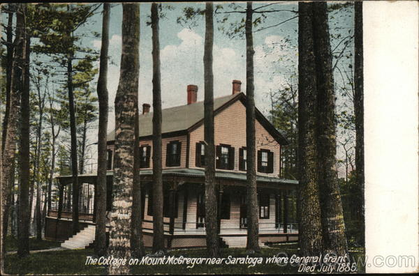 The Cottage on Mount McGregor