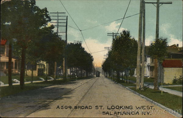 A 509 Braod St. Looking West Salamanca New York