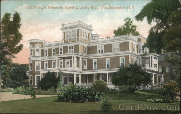 The Pringle Home for Aged Literary Men Poughkeepsie New York